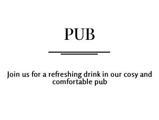 Pub Overlay