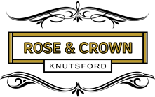 Rose and Crown Website Gold Logo