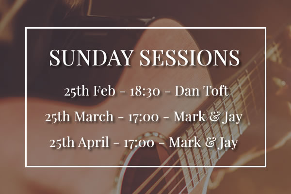 Sunday Sessions at Rose & Crown Knutsford