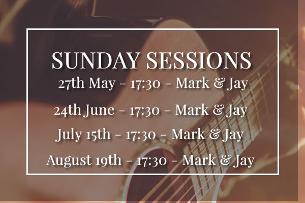 Sunday Sessions at Rose & Crown Knutsford Summer